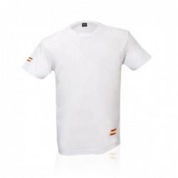 Camiseta Adulto Tecnic Bandera BLANCO