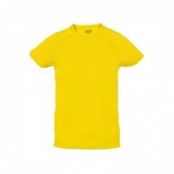 Camiseta Niño Tecnic Plus AMARILLO