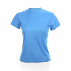 Camiseta Mujer Tecnic Plus AZUL CLARO