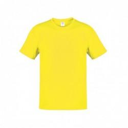 Camiseta Adulto Color Hecom AMARILLO